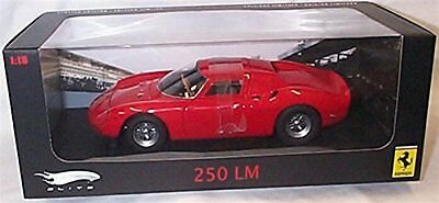 hotwheels elite ferrari red 250 LM car 1.18 scale limited edition diecast model