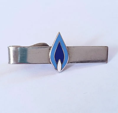 vintage Southern California Gas Co. SoCal employee enamel tie clip