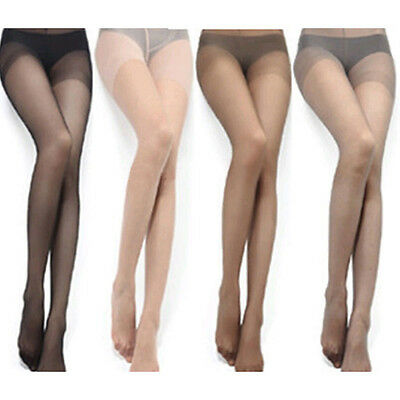 4 Colors Sexy Women Thin Sheer Tights Stocking Panties Pantyhose