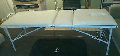 Mercia Folding Massage Treatment and Beauty Table / Bed With Carry Bag