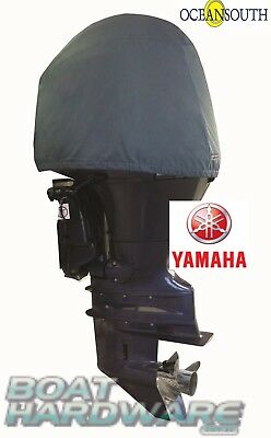 Oceansouth Outboard Storage Cover Custom Yamaha In-Line 3cyl 30-40HP UV Resist