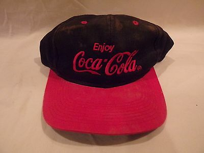 Vintage Coca Cola Snapback Hat by Young An Hat co. One Size (green under brim)