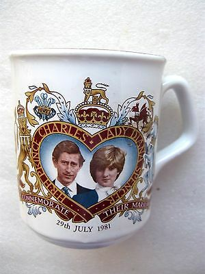 Prince Charles & Lady Diana Spencer Marriage Cup / Mug