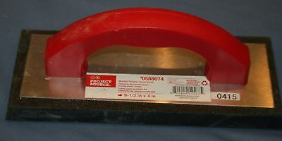 "Project Source Molded Rubber Grout Float 9 1/2"" x 4"""