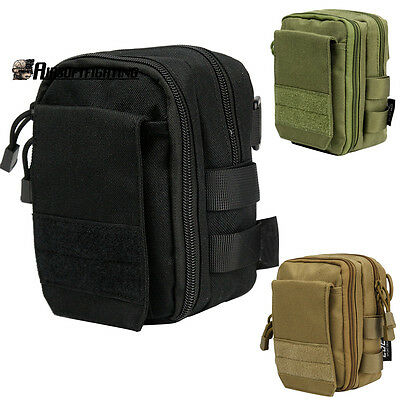 1000D Molle Tactical 12GA Shotgun Sundries Bag Medical Magazine Pouch With Strap