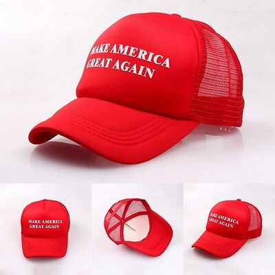 2016 Make America Great Again Hats Donald Trump Republican Hat Cap Red Fashion