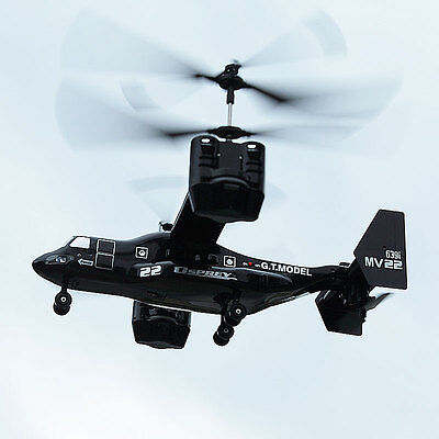 2.4G Biaxial 4.5 channel remote control helicopter RC Osprey Fighter Large size