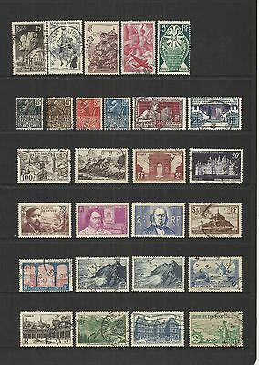 France ~ Early Commemoratives (Small Collection) Most Used