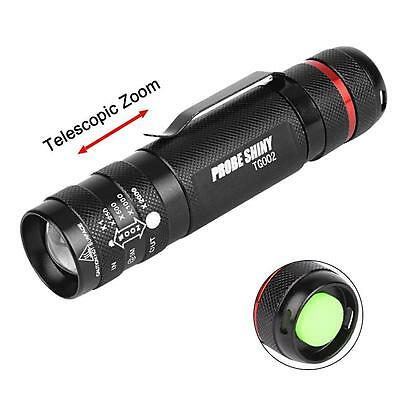 6000 Lm CREE T6 AAA/18650 5 Modes Zoom LED Super Bright Lampe Torche Lumière AF
