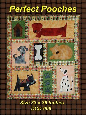 Perfect Pooches Charming Dog Quilt Pattern