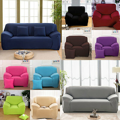 Hot New Stretch Chair Slip Cover Sofa 1 2 3 4 Seater Protector Couch Slipcover
