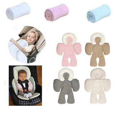 Soft Baby Stroller Cushion Pad Car Seat Liners/Cotton Gauze Blankets Covers