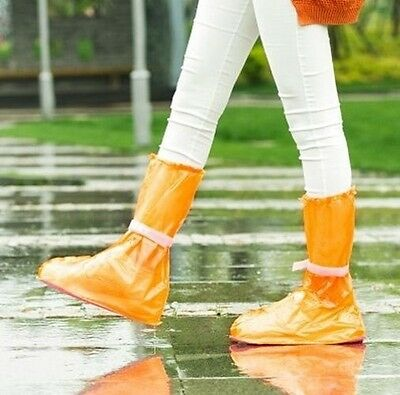 Waterproof Rain Shoes Cover Outdoor Tourism Rain Boots Snow Land Necessary Easy