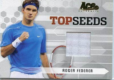 Ace Authentic Topseeds Roger Federer Match Worn Jersey
