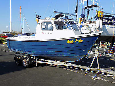 Orkney 19 fishing boat, NOW SOLD