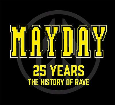 "Various Artists ""mayday -25 years"" strong limited Vinyl 4LP NEU 2016"