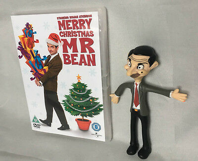 "Merry Christmas Mr Bean Dvd & Figure 6"" Tiger Aspect Production Ltd 2003"