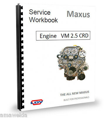 London Taxi TX4 Engine Workshop Manual for VM2.5CRD Cdi