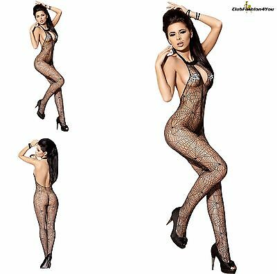 Hot Reizwäsche Fishnet Body Stocking Catsuit Netz Body Unterwäsche |H| 79899-2