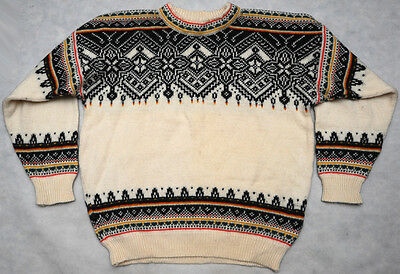 DALE OF NORWAY - 100% WOOL - HIGH QUALITY warm SWEATER - szie XL