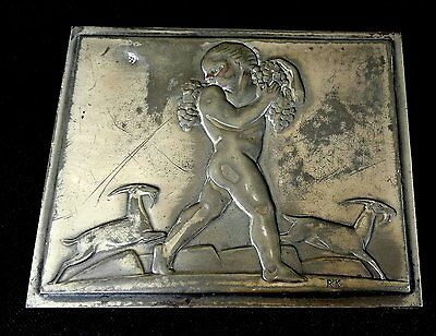 Bacchus Cigarette Box Incredibly Rare Rockwell Kent Design for Chase