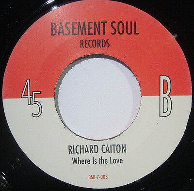 Richard Caiton ‎– I Like To Get Near / Where Is The Love