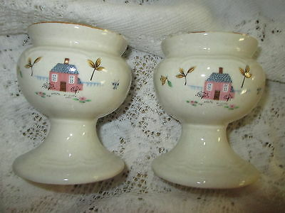 Heartland International Pair Of Taper Candle Holders ~ Excellent Condition!