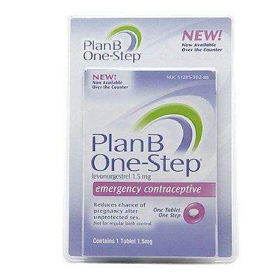 Plan B One Step Emergency Contraceptive Tablet Exp.03/2018