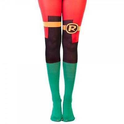 "DC Comics BATMAN Licensed ROBIN ""Suit Up"" Tights COSTUME Prop COSPLAY O/S"
