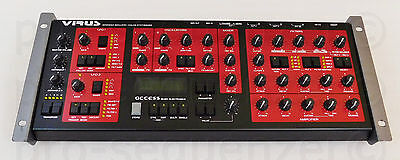 "Access Virus A Advanced Simulated Analog Synthesizer ""Monster Synth"" + Garantie"