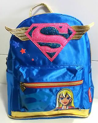 MOCHILA DC SUPER HERO GIRLS SUPERGIRL Sac à Dos BACKPACK Zaino RUCKSACK 34 cm