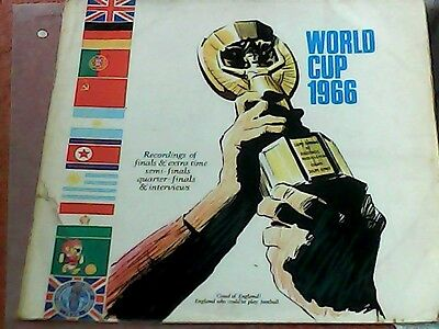 1966 World Cup Final Double Lp Recording In  Laminated Gatefold Sleeve