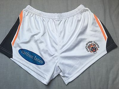 Castleford Tigers Rugby League Players Shorts Large