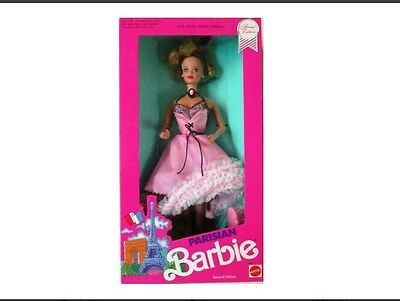 Dolls of the World Collection-Parisian Barbie-1990-Special Edition