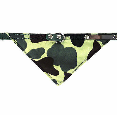 Camo Kaki Collier Chat 33cm / 33cm