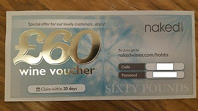 £60 Wine Voucher for Naked Wines