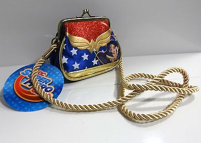 BOLSO RETRO DC SUPER HERO GIRLS WONDER WOMAN Retro Bag Borsa Sac Tasche сумка