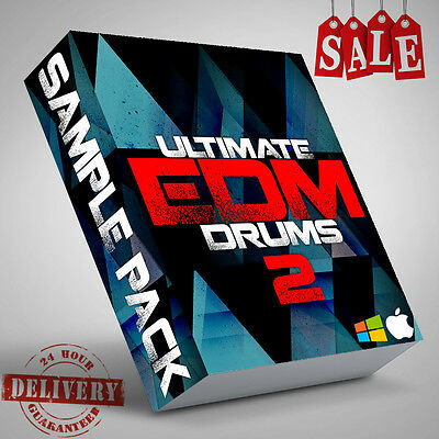 EDM Drums Full Beats 750+ Sample loops 2 House different BPM