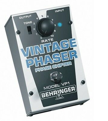 Behringer VP1 Vintage Phaser Effects Pedal / Stomp Box