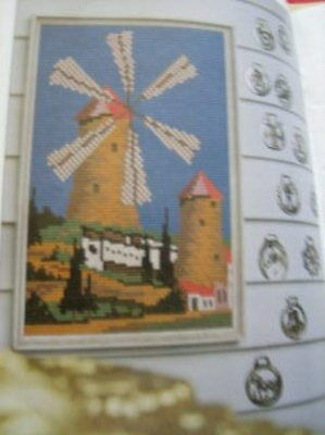 12 Norweave Designs Embroidery, Needlepoint Craft Book -Coats Sewing #1154