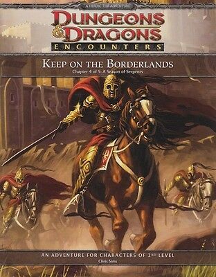"Dungeons and dragons ""Keep on the borderlands"", chapter 4"