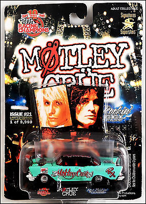 "Motley Crue ""Dr. Feelgood"" 57 Chevy Die Cast Car Nikki Sixx Racing Champions"