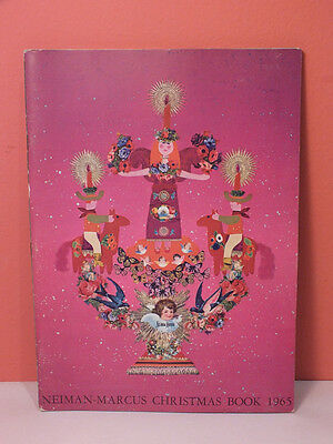 Neiman Marcus CHRISTMAS BOOK 1965 Catalog PERFECT Vintage Angels Butterflies