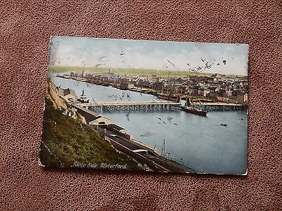 Early  postcard - harbour -Waterford - Munster Ireland