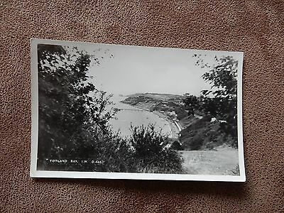 Dean Bay series Real Photo postcard - Totland Bay- IOW Isle of Wight