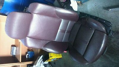 BMW E46 Saloon M SPORT individual BlackBerry heated Leather Seats and door cards