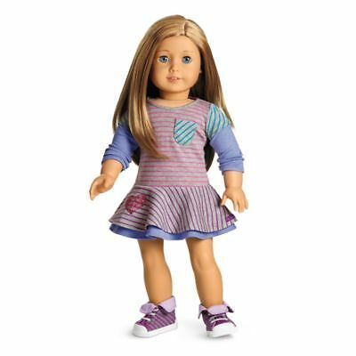 Authentic American Girl Doll School Stripes Dress/Outfit NIB Perfect Gift!