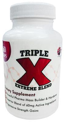 ORB PHARMACEUTICALS TRIPLE X 60cps MASS GAINER. SALE!!! FREE SHIPMENT TO EU!!