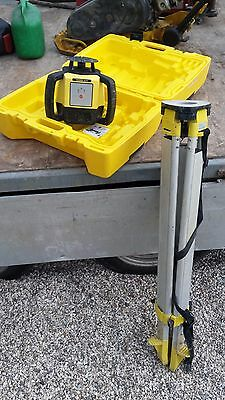 Leica Rugby 610 Rotating Laser Li-Ion for all construction applications li-ion