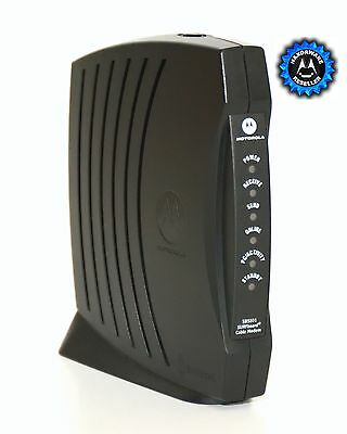 Motorola Cable Modem SB5101 with Haxorware v1.1 Rev39 firmware